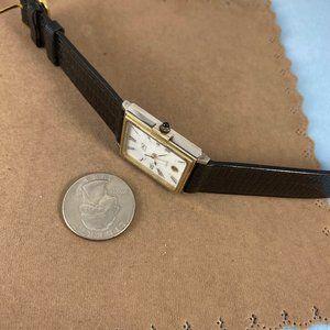 Jaz Accessories - Vintage Jaz Paris Mans Tank French Designer Watch